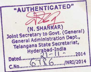 HRD Attestation Hyderabad Telangana