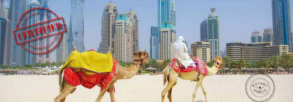 UAE certificate attestation service